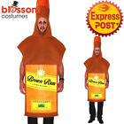 CSW49 Rum Bottle Costume Adult Mascots Costumes Fancy Dress Up Funny Oktoberfest