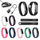 TPU Watch Wrist Band Strap Bracelet Wristband + USB Cable Cord For FitBit Alta