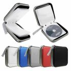 40 Pocket CD DVD Disc Storage Holder Protector Wallet Car Music Carry Case Bag