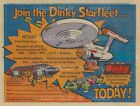"STAR TREK 1976 Dinky Toys SPACE: 1999 = POSTER Not Comic Book 7 SIZES 19"" - 36"""