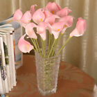 Artificial Calla Lily Fake Silk Flowers Bouquet head Wedding Party Home Decor JP
