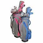 New Cobra Fly Z S Womens 8 pc Golf Club set Pink 8pc Driver Fwy Hyb Irons Putter фото