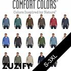 Comfort Colors Garment-Dyed Full-Zip Hoodie. 1563