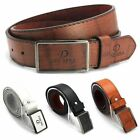 Luxury Men's Casual Waistband Leather Automatic Buckle Belt Waist Strap Belt New
