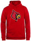 Adidas University of Louisville Cardinals Men Adult Hooded Sweatshirt