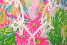 New Lilly Pulitzer BREWSTER T-Shirt Dress S / M Multi More Lovers Coral NEON NWT