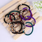 Wholesale Women's High Elastic Hair Ties Band Ropes Ponytail Scrunchie Beads