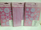 ELEGANZA 'LACE' - Adhesive backed Craft Stickers peel offs - Various designs