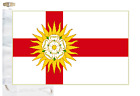 West Riding of Yorkshire County Courtesy Boat Flag Roped & Toggled