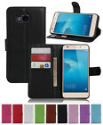 Litchi Leather slot wallet stand flip Cover Skin Case For HUAWEI Ascend XT H1611