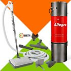 New Allegro Central Vacuum 3,000 sq feet - 30' Hose Electrolux Powerhead Kit