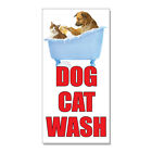 Dog Wash With Image Style 5  DECAL STICKER Retail Store Sign $15.99 USD
