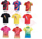 2017 Outdoor sports men's Tops tennis clothing Badminton T-shirt