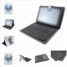 "New 7-7.9""Universal 2in 1 Wireless Bluetooth Keyboard PU Floral Case for Tablets"