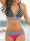 2 Piece/Set Swimwear Womens Bikini Set Bandage Push-Up Padded Swimsuit Beachwear