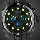 INFANTRY Mens LED Digital Quartz Wrist Watch часы мужские Sport Military  Rubber image