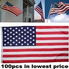3' x 5' FT USA US U.S. American Flag Polyester Stars Brass Grommets 150x90cm
