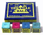 6 x PIECES OF TRIANGLE CHALK AVAILABLE IN VARIOUS COLOURS