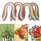 3/5/7/10mm 720 Strips Paper Quilling 36 Color 540mm Length Papercraft DIY Decor
