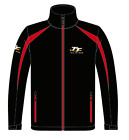 Isle of Man TT Soft Shell jacket 17ASSJ2BR Black  Red Soft Shell Jacket TT Logo