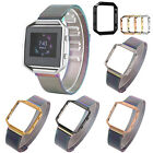Colorful Magnetic Milanese Loop Strap Watch Band   Frame For Fitbit Blaze Watch