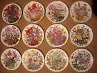 Choose ONE OR MORE Plates  FLOWERS OF THE YEAR Franklin Mint RHS Wedgwood Plate