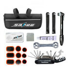 Portable Cycling Bike Bicycle Tool Bag with Tyre Repair Tool Kit Pump Wrench