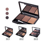 Eyebrow Powder Eye Brow Palette Cosmetic Makeup Shading Kit With Brush Mirror DV