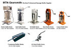 New MTN Restaurant Commercial Electric Manual Stainless Steel Sausage Stuffer