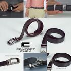 Brand New Comfort Click Belt With Steel Brown And Black Belts For Men