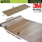 3M DI-NOC BURMA TEAK WOOD Grain Vinyl Sheet Wrap Film Sticker Roll Adhesive