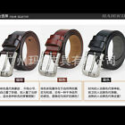 P-840 New Men's Belt Genuine Leather Waist Stylish Fashion Belt Free Shipping