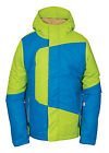 Image of NEW $130 Youth Boys 686 Blaze RARE Lime Teal Insulated Winter Sports Ski Jacket