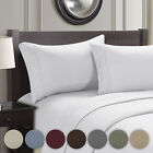 Manhattan Lights® Embroidered Deep Pocket Bed Sheet Set In King And Queen Sizes