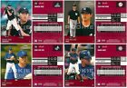 2003 PLAYOFF PRESTIGE ROOKIE BASEBALL CARDS Nos. 202, 204, 205, 210 - FREE S&H