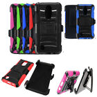 Phone Case For LG Phoenix 3 / LG Fortune / LG Aristo Holster Rugged Cover Stand