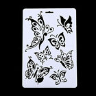 DIY Craft Angel Butterfly Layering Stencils Painting Scrapbooking Stamps Album