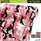 LARGE PINK Camouflage Vinyl Car Wrap Camo Film Sheet Roll Adhesive