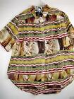 "We Be Bop Mesa Tunic Shirt/Blouse 4X 3X NWT Bust 64"" Length 37"" mx4"