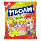MAOAM SOUR STRIPES 180G WHOLESALE DISCOUNT BAG SWEETS WEDDING FAVOUR PARTY CANDY