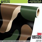 camouflage vehicle wrap - JUMBO WOODLAND Camouflage Vinyl Vehicle Car Wrap Camo Film Sheet Roll Adhesive