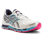 Women's Asics Gel Cirrus 33 2 White Lightning Navy T364N 0191 7.5 10.5 Nimbus