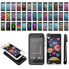 For HTC Desire 530 630 Shockproof Brushed Hybrid Protector Cover Case + Pen