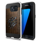 For Samsung Galaxy S7 Edge G935 Shockproof Brushed Hybrid Phone Cover Case + Pen