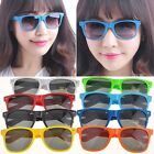 New Retro Frames Sunglasses Eyewear Mirrored Lens Brown Glasses B20E01