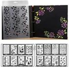 DIY Album Material Painting Template Accessorie Decor Tool Paper Card Craft Hot