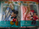 "12"" INFANT BABY MICKEY or MINNIE BIRTHDAY PARTY  HELIUM LATEX BALLOONS 6 PACK"