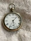Antique Waltham Size 18 Broadway Key Wind Pocket Watch