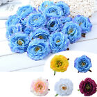 Artificial Fake Peony Silk Flower Floral Leaf Wedding Party Home Decor 20PCS New