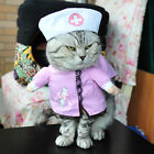 Cat Costume Cosplay Pirate Police Doctor Bachelor Pet Clothes